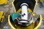 Arbeitsvorbereitung monolithische Schachtproduktion PERFECT Premium von Beton Kemmler