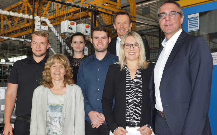 Kemmler Tübingen auszubildende bei beton kemmler sind erneut erfolgreich