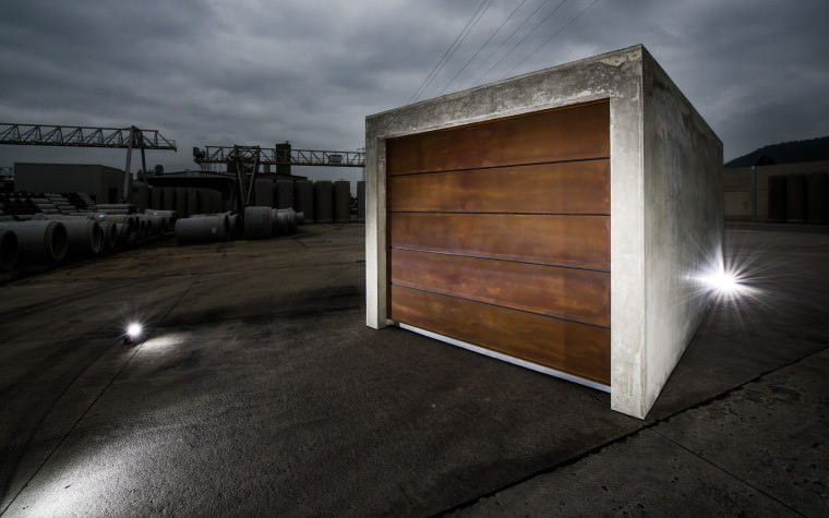 Fertiggarage beton roh  Béton brut gewinnt iF Design Award